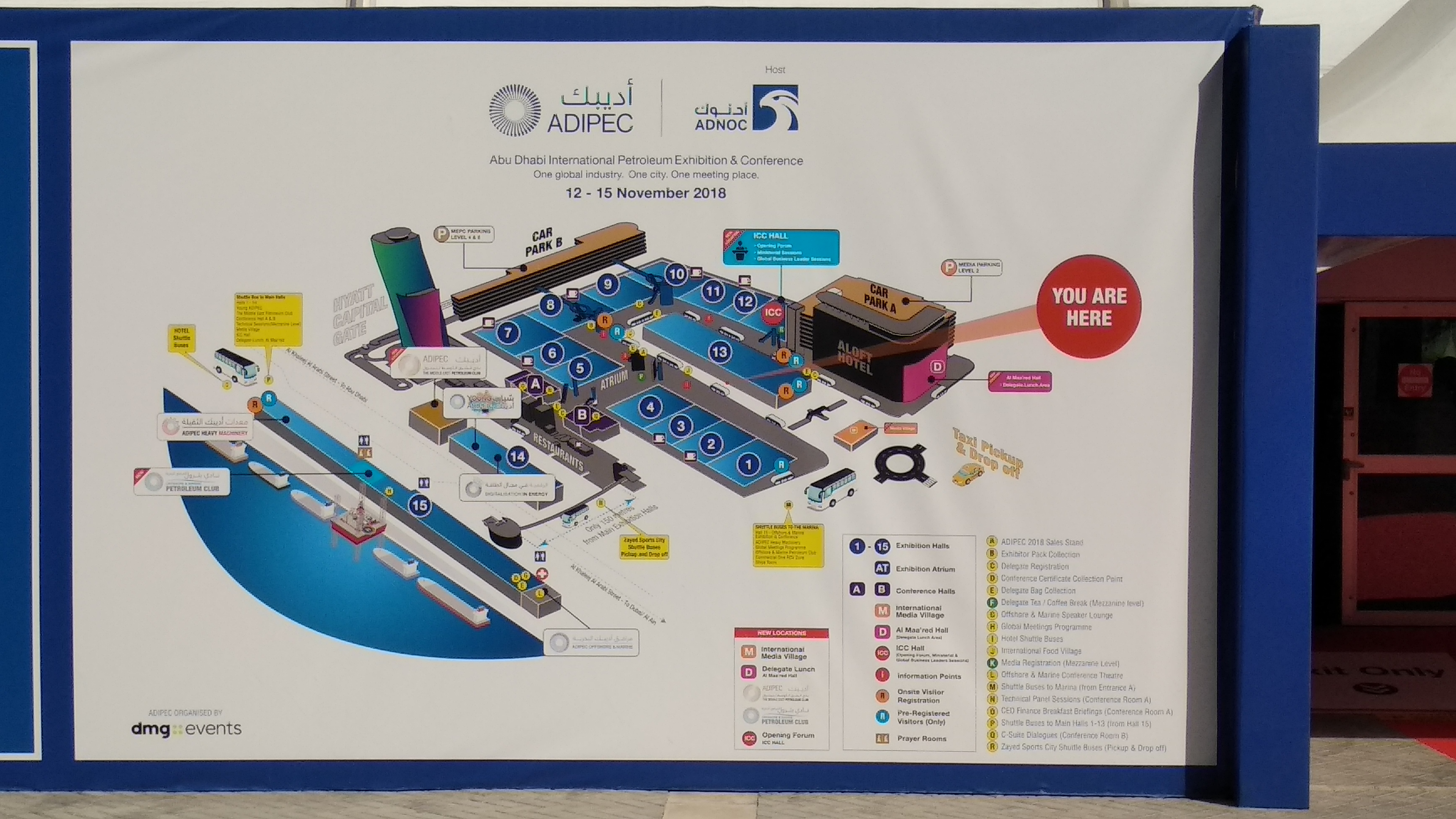 ADIPEC 2018 is over : TM Tecnomatic